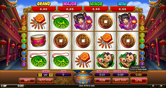 Slot Online Lucky God Progressive 2
